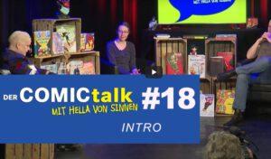 DER COMICtalk 18 – Vorstellung