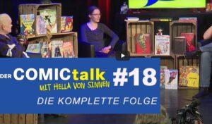 DER COMICtalk 18 – komplette Sendung