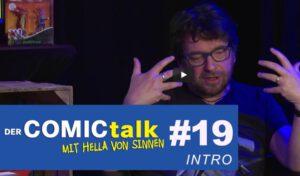 DER COMICtalk 19 – Vorstellung