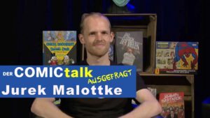 Comic-Zeichner Jurek Malottke bei AUSGEFRAGT!
