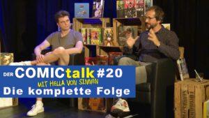 DER COMICtalk #20 – Die komplette Folge
