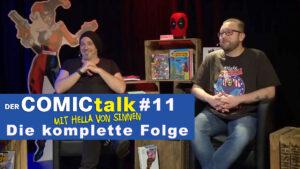 DER COMICtalk #11 – Die komplette Folge