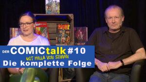 DER COMICtalk #10 – Die komplette Folge