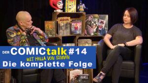 DER COMICtalk #14 – Die komplette Folge