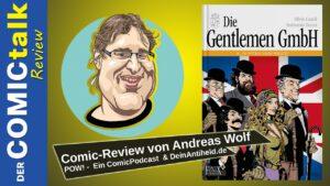 Gentlemen GmbH | Comic-Review von Andreas Wolf