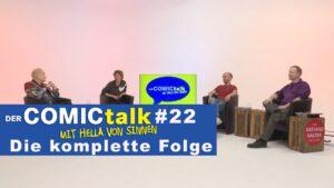 DER COMICtalk #22 – Die komplette Folge