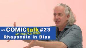Rhapsodie in Blau in DER COMICtalk #23