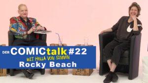 Rocky Beach in DER COMICtalk #22