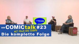 DER COMICtalk #23 – Die komplette Folge