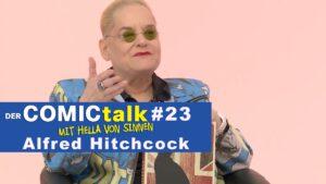 Alfred Hitchcock in DER COMICtalk 23