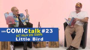 Little Bird in DER COMICtalk #23