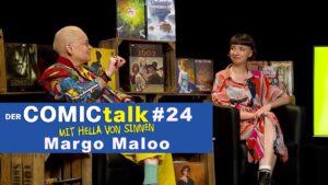 Margo Maloo in DER COMICtalk 24