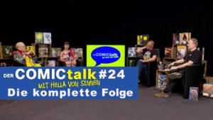 DER COMICtalk #24 – Die komplette Folge