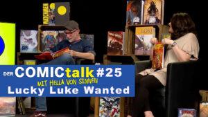 Lucky Luke Wanted in DER COMICtalk 25